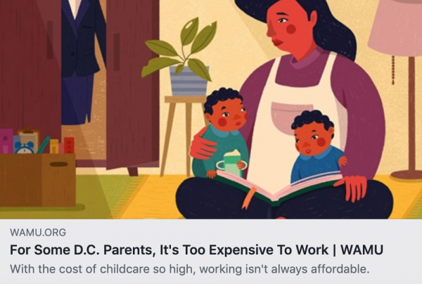 For Some D.C. Area Parents, It's Too Expensive To Work