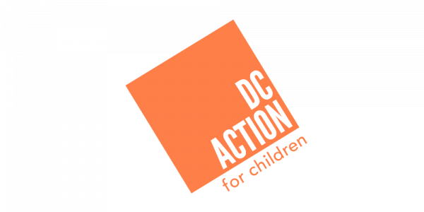 DC Action for Children logo
